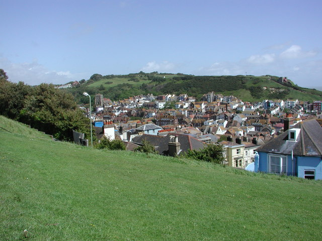 Old Hastings Nestling in its Valley