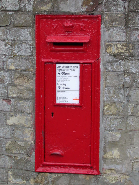 VR letterbox, Great Shelford