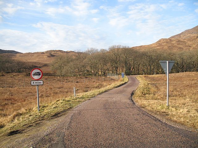 The Kingairloch Road