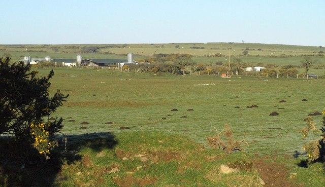 Farm buildings near Penhale