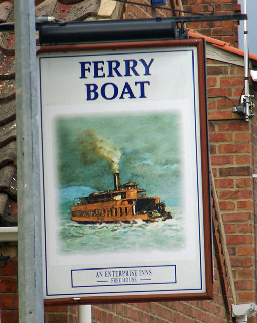 The Sign of the Ferry Boat Inn