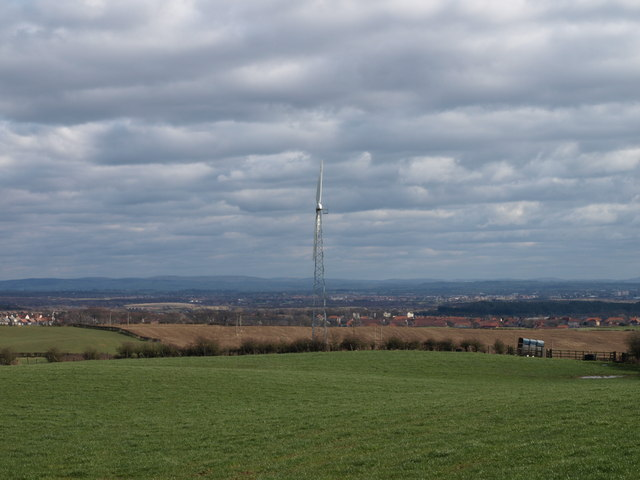 New Wind Turbine, Middlepart Farm