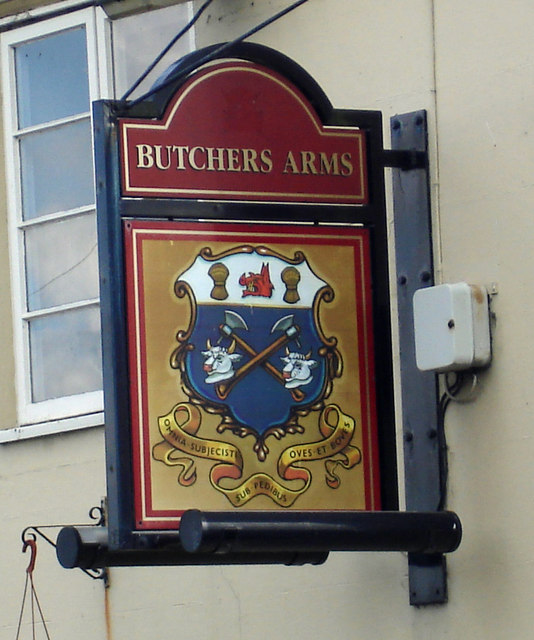 The Sign of the Butchers Arms