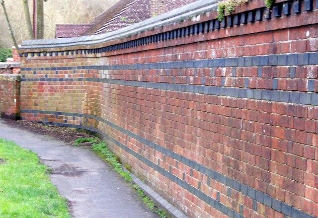 Old Brick Wall-Titchfield