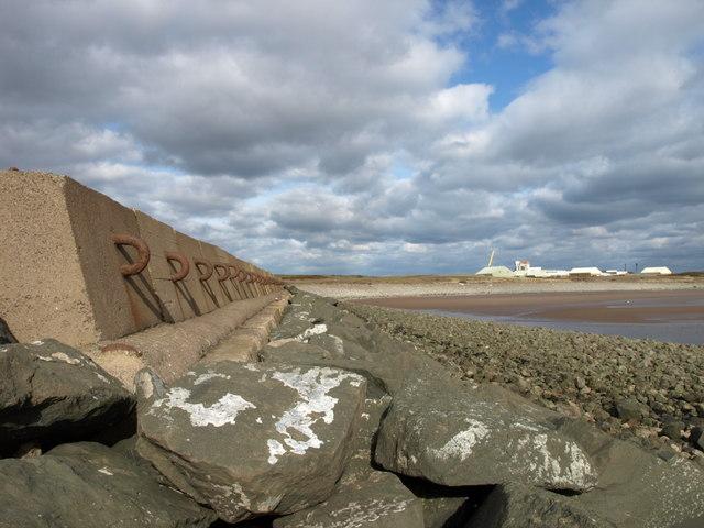 Sea defences, Stevenston