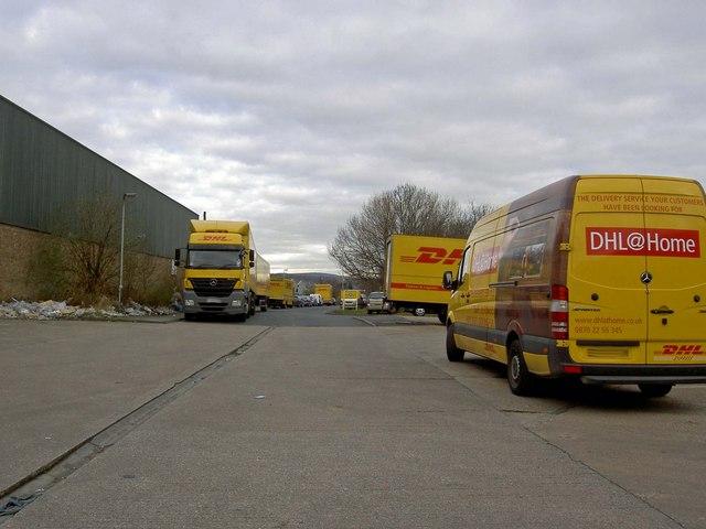 DHL depot Parkhouse Lane Tinsley