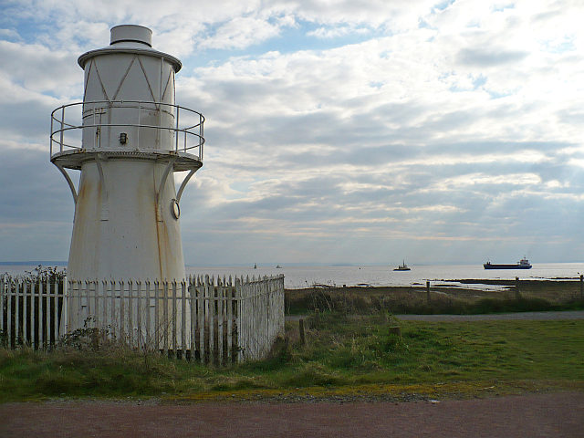 East Usk Lighthouse, Uskmouth