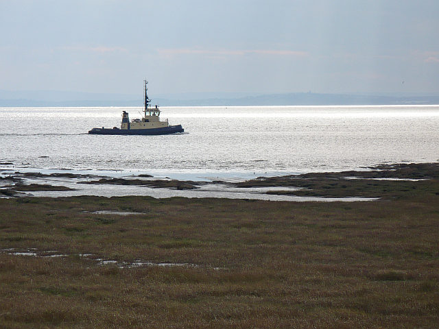 Tug on the Usk Estuary