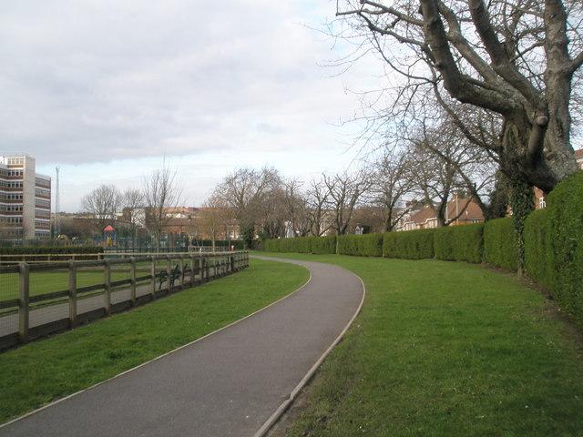 Path in Cosham Park