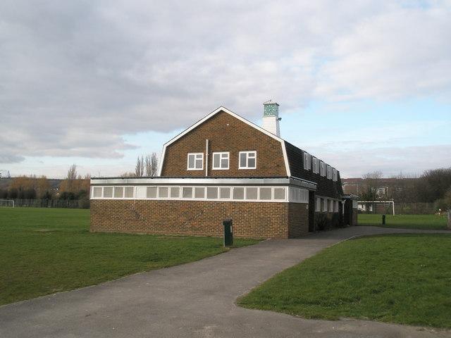 Pavilion at King George the Fifth Rec, Cosham