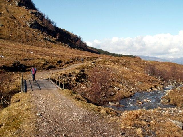 The Allt Leachdach bridge