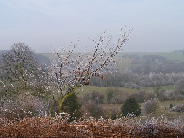 Hoar Frost above Oughtibridge