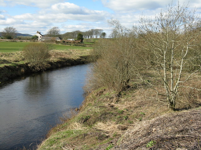 The Kinnel Water at Bridgemuir