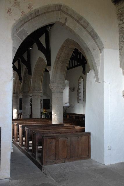 Interior of Byford Church