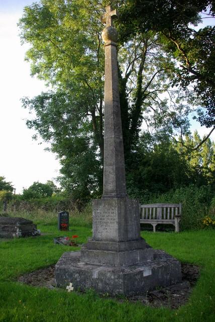 War Memorial, Bromfield