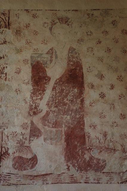 Wall painting, Byford Church