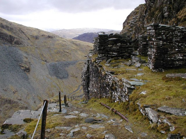 Former Tramway Incline, Honister Slate Mines
