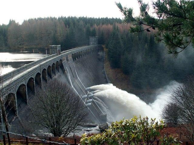 Laggan Dam Head wall