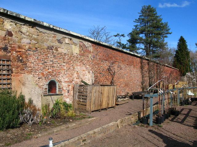 Smeaton Garden Centre, north of East Linton