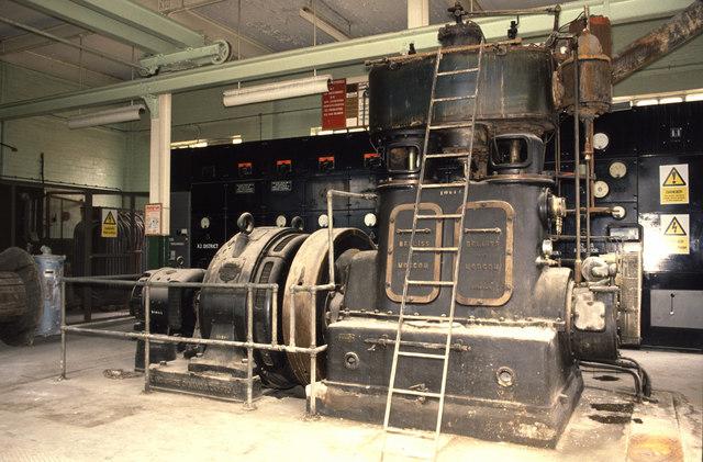 Steam engine, J & E Sturge, Lifford Lane