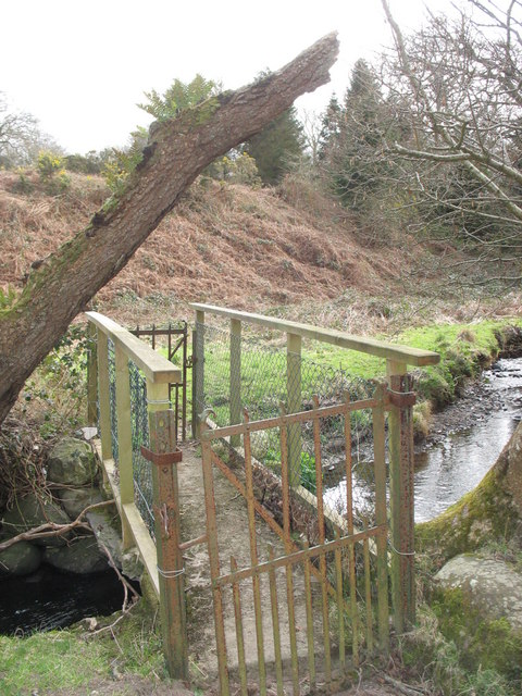 Footbridge over Afon Carrog