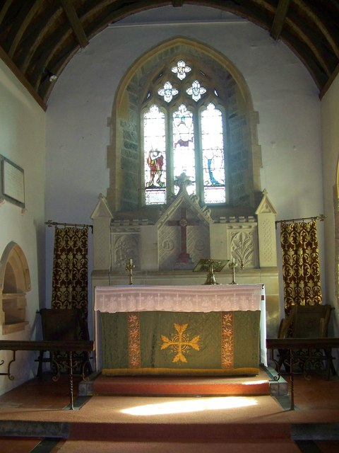 Interior, St John the Baptist Church, East Down