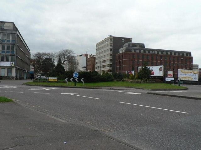 Bournemouth: St. Swithun's Roundabout