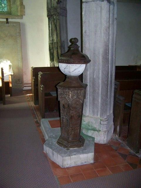 Font, St John the Baptist Church, East Down