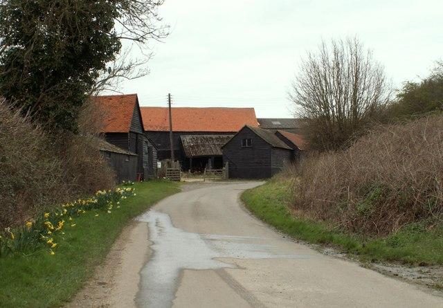 Berwick Farm along Berwick Lane