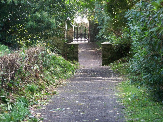 Gate and path at St John the Baptist Church, East Down
