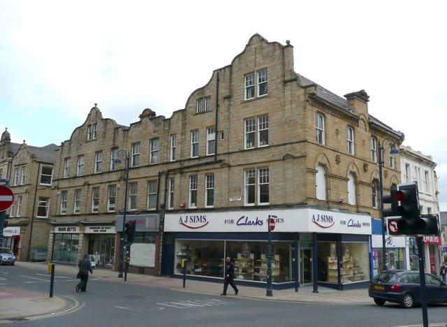 Shops, Corporation Street, Dewsbury