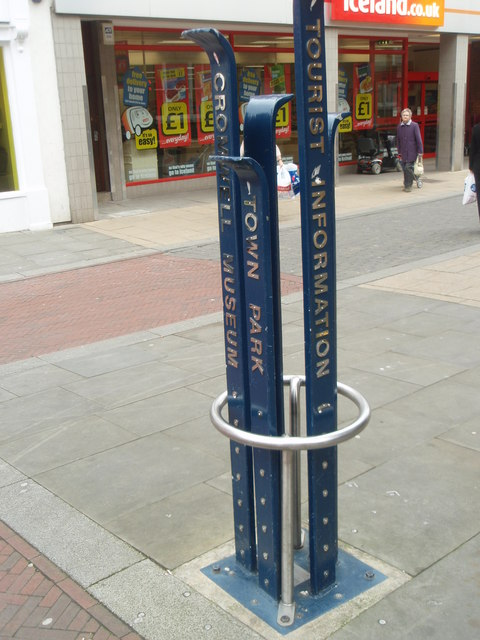 Street Furniture, High Street, Huntingdon