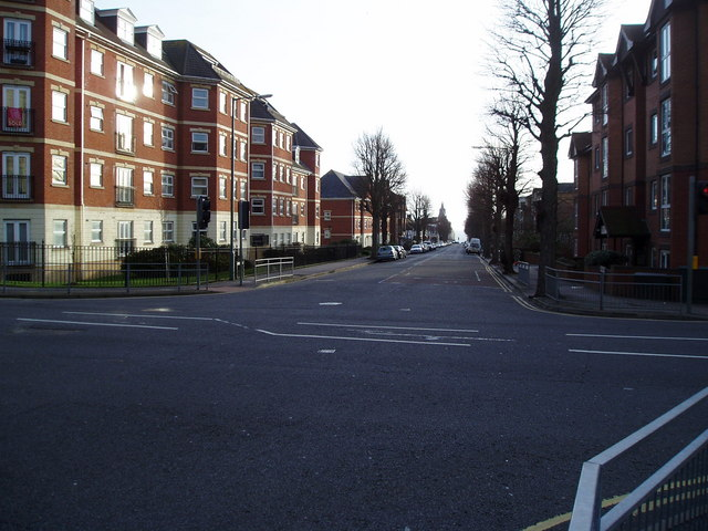 The Monarch's Way on Holland Road