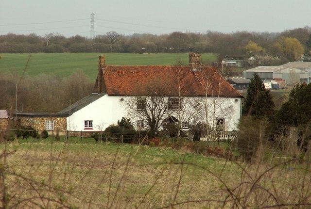 The farmhouse at Stapleford Hall Farm
