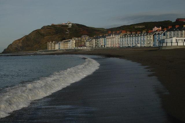 Beach & seafront, Aberystwyth