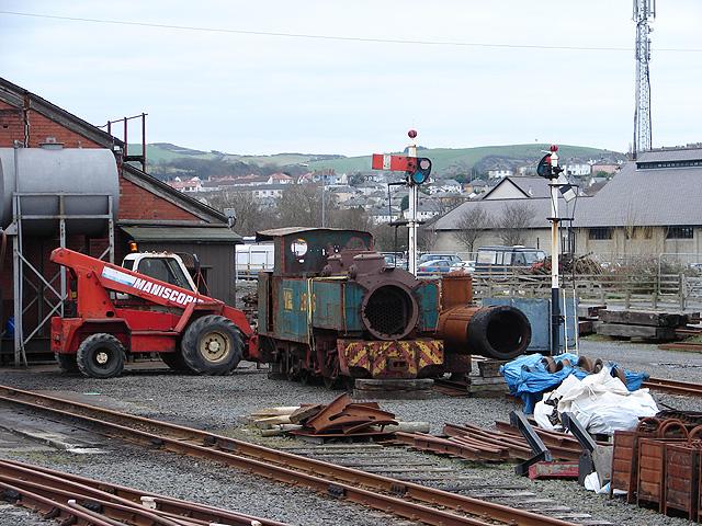 Vale of Rheidol Railway Workshops