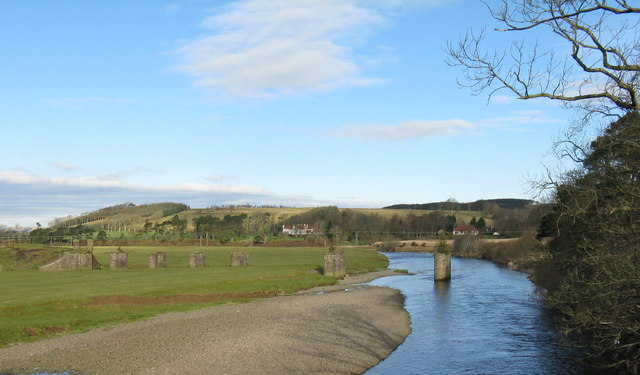 The River Clyde and Netherton