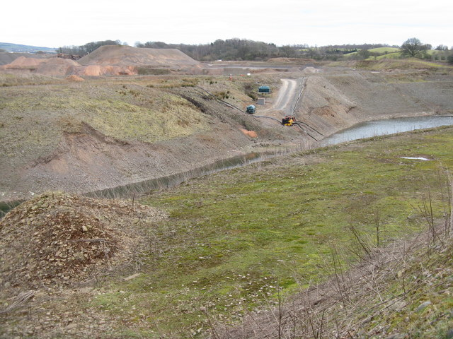 Gravel pit at Parkburn