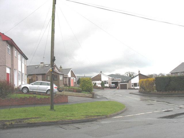 The Dinas housing estate