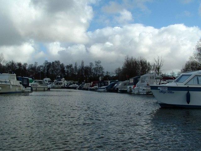 Private Boat Mooring Berths, Hobro's Dyke, Brundall