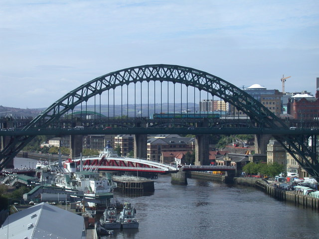 Tyne view from the Baltic
