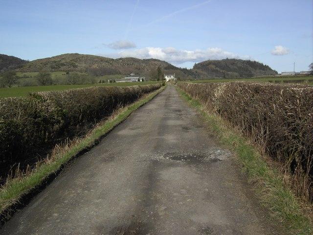 Reedweel Farm Track