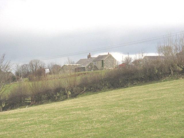 Farm buildings at Fferm Plas