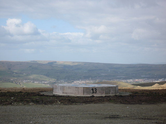 Scout Moor Turbine Base No 13