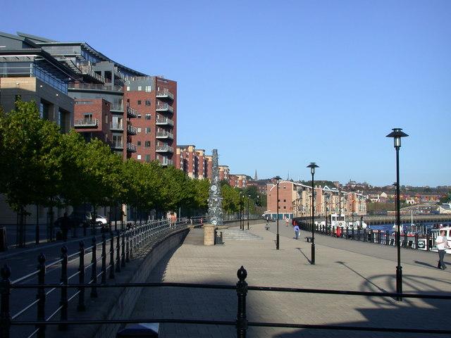 The Promenade, Quayside