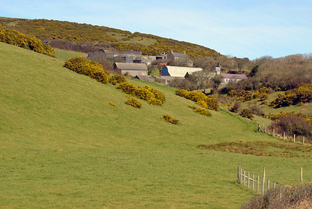 Morfa-isaf from Pen Pistyll