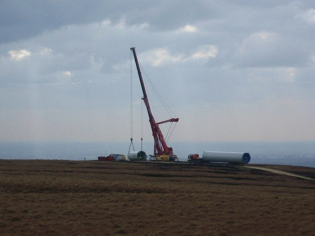 Construction begins on Turbine Tower No 7