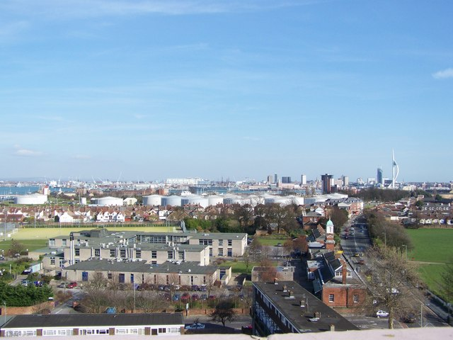 View of Portsmouth Dockyard