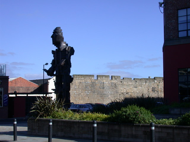 Vulcan and the city walls (2)