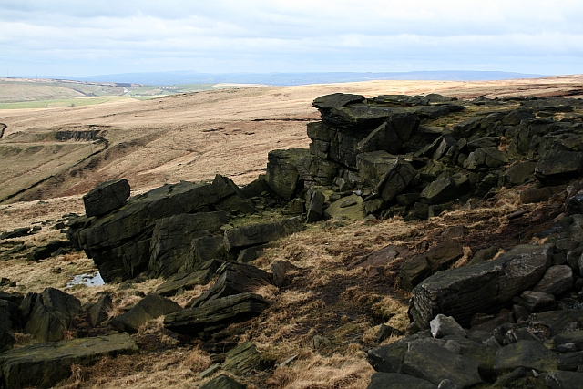 Rocks on Standedge